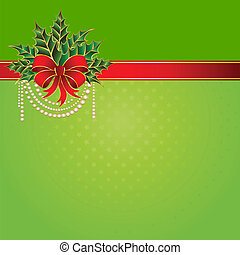 kerstmis, boog