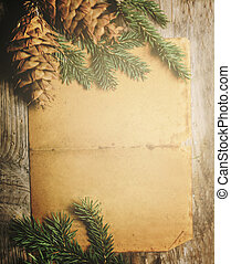 kerstmis, brief, achtergrond