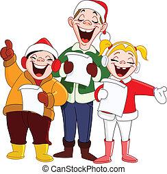 kerstmis carolers