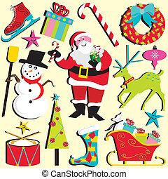 kerstmis, clipart