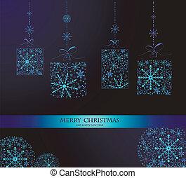 kerstmis, doodles.vector