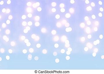 kerstmis, feestdagen, licht, achtergrond