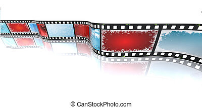 kerstmis, filmstrip