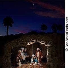kerstmis geboorte