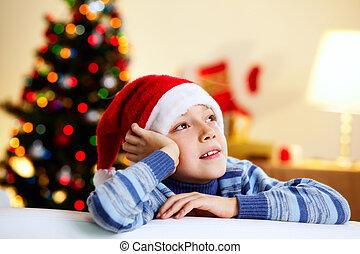 kerstmis, gedachten