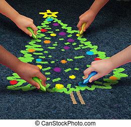 kerstmis, gemeenschap