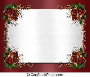 kerstmis, grens, classieke