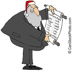 kerstmis hoed, rabbi, kerstman