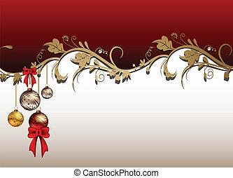 kerstmis kaart, achtergrond