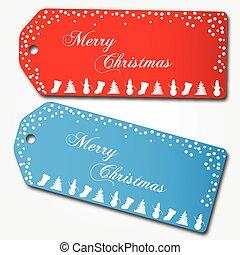 kerstmis, markeringen