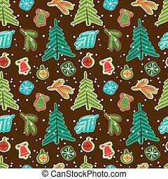 kerstmis, pattern., seamless