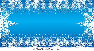 kerstmis, pf, kaart