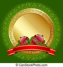 kerstmis, plaque