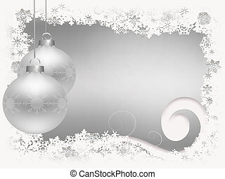 kerstmis, snowflakes