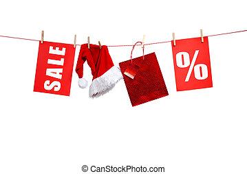 , kerstmis, verkoop