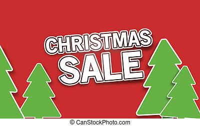 kerstmis, verkoop
