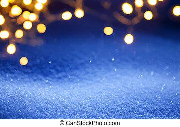kerstmislicht, achtergrond