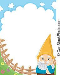 kert gnome, háttér