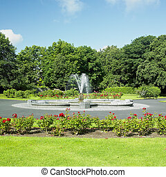 kert, kilkenny, megye, írország, bástya, kilkenny