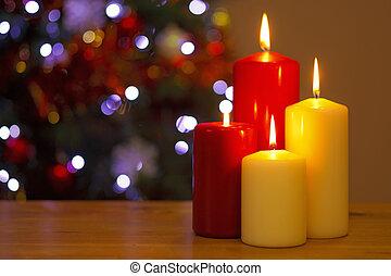 Kerzen, Weihnachten