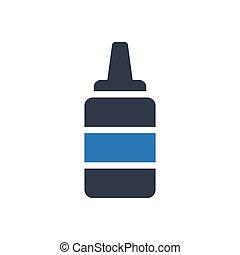 ketchup  glyph color icon