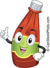 Ketchup Mascot