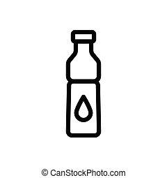 ketchup  thin line icon