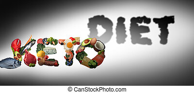 Keto Diet Concept