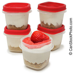 Keto Low Carb High Fat Cheesecake Cups