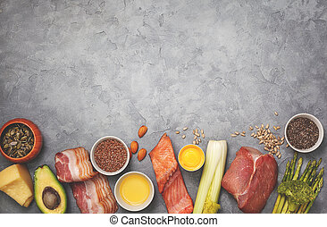 ketogenic, dieta, składniki