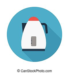 kettle flat icon