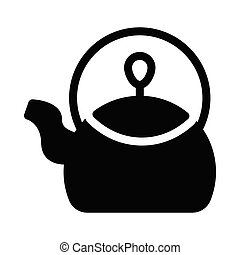 kettle  glyph color icon