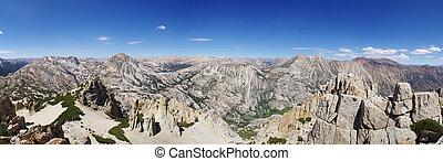 Kettle Peak Summit Panorama