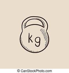 kettlebell, 略述, icon.