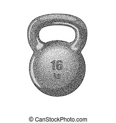 Kettlebell with handle