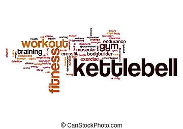 Kettlebell word cloud