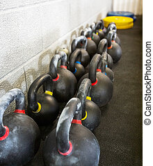 Kettlebells At Cross Fitness Box
