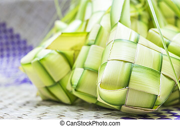 Ketupat or rice dumpling is Malaysian most iconic delicacy...