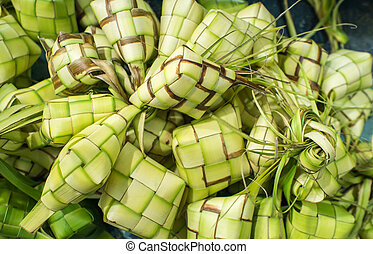 Ketupat Pouches - Ketupat (in Indonesian and Malay) or Kupat...