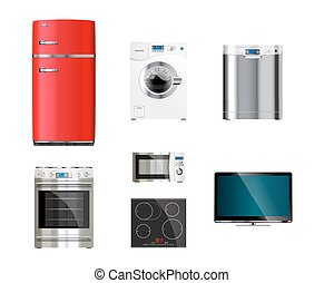 keuken, woning, toestellen