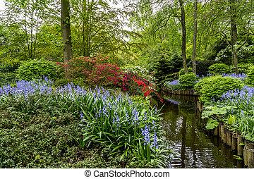 Keukenhof Gardens in the spring