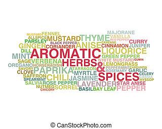 keukenkruiden, aromatisch, variëteit