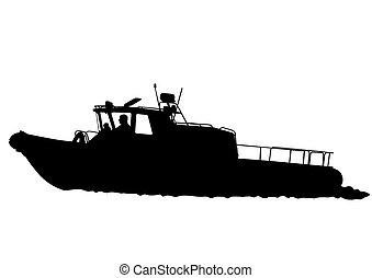 kevés, csónakázik