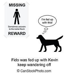 Kevin missing
