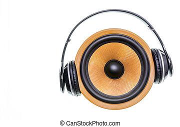 Kevlar Speaker With Headphones