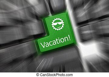 key),  -, 假期, 直飛上升, 鍵盤, 概念性, 影響,  (green
