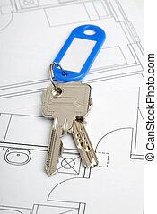 Key and blueprint