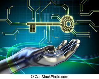 Key and circuits