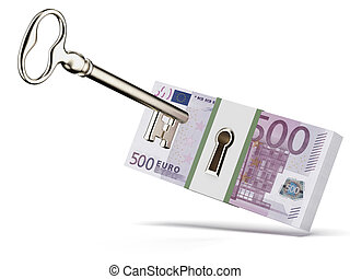 Key and euros