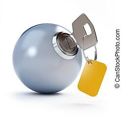key ball
